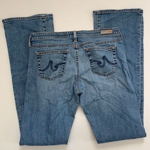 AG The Colette Slim Boot Jeans Stretch 29x33 USA
